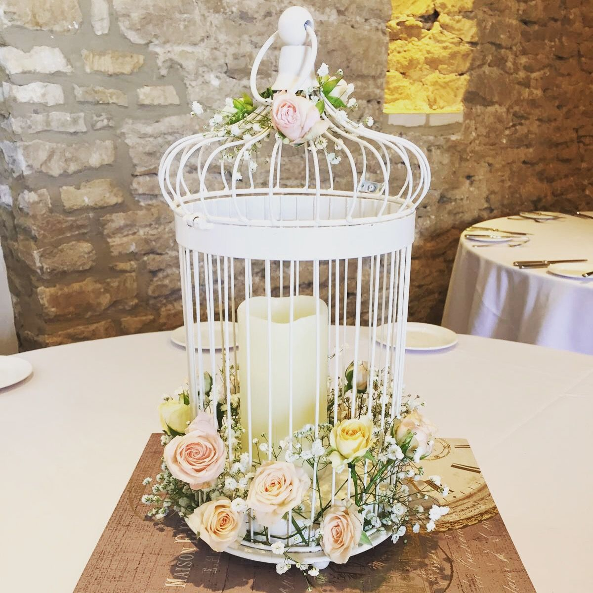 Birdcage Table Decorations | Wedding Tips and Inspiration
