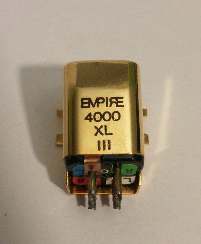 Vintage Empire 4000 Xl Iii Phono Turntable Cartridge