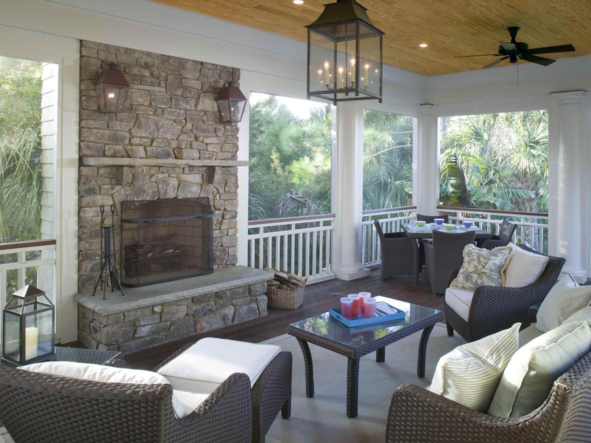fireplace on the deck houzz outdoors pinterest houzz