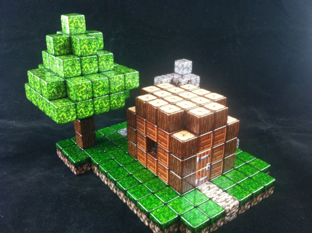 How To Build A Birthday Cake House In Minecraft
