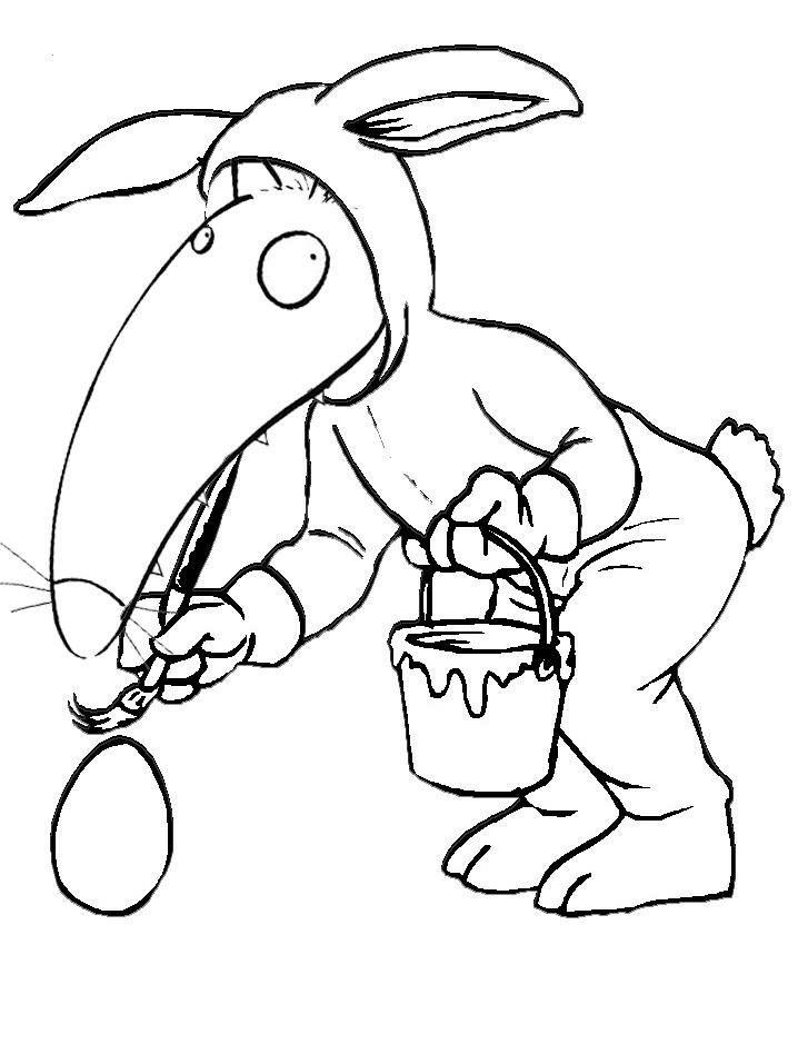 Paques de wollef loup maternelle et coloriage loup - Coloriage p tit loup ...