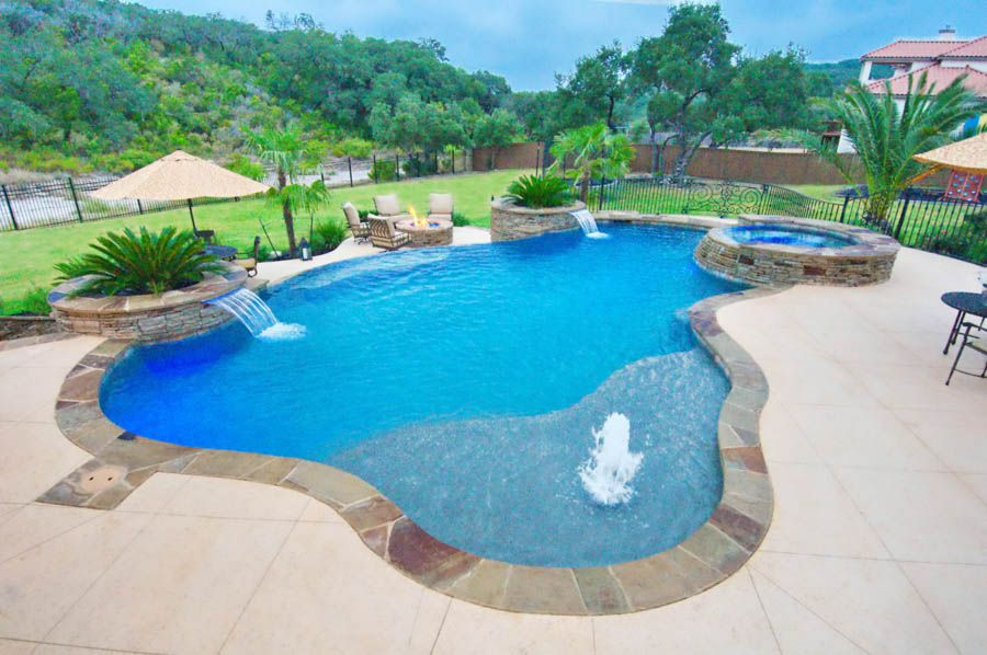 Custom Pool Gallery Pool Concepts San Antonio Tx Custom Pools Pool Renovation Outdoor Pool