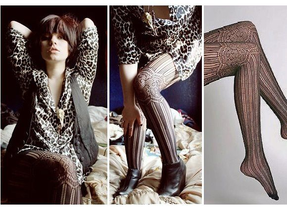 the moda: Pantimedias vintage
