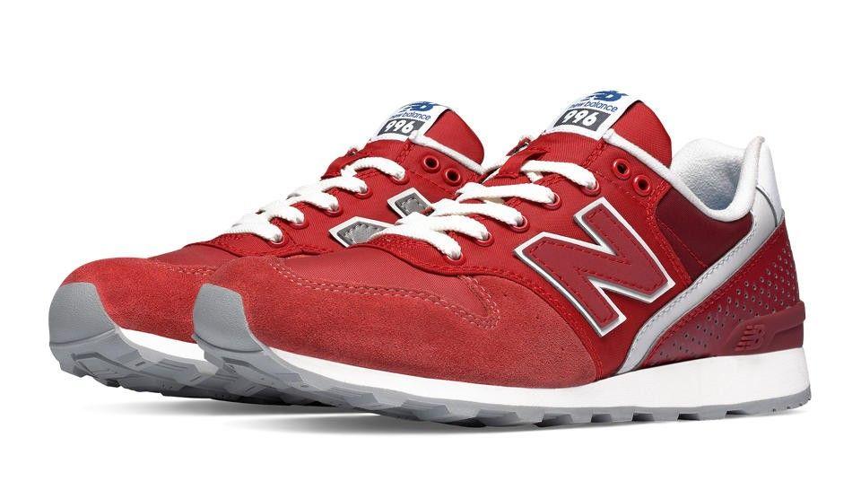 new balance 996 femme rouge