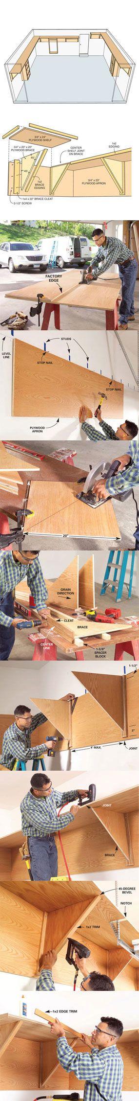 Garage Storage Ideas Find Unused Space Diy garage
