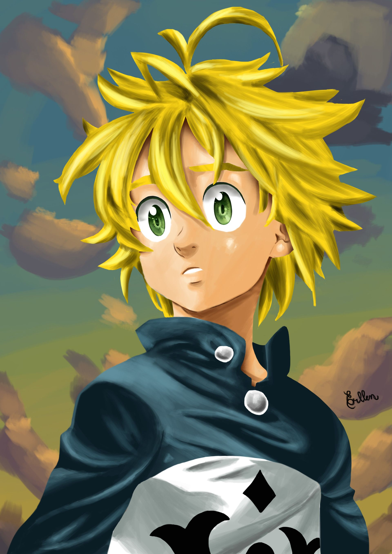 Meliodas anime en 2020 Arte de anime, Imagenes de