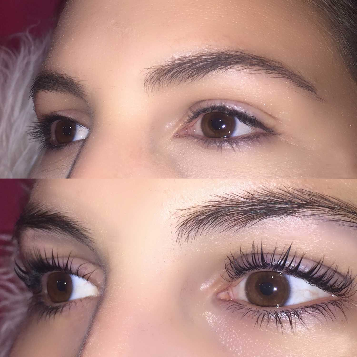 I Got A Lash Lift And My Eyelashes Have Never Looked Better My