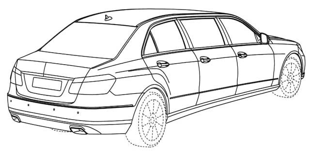 mercedes limousine coloring page mercedes car coloring pages