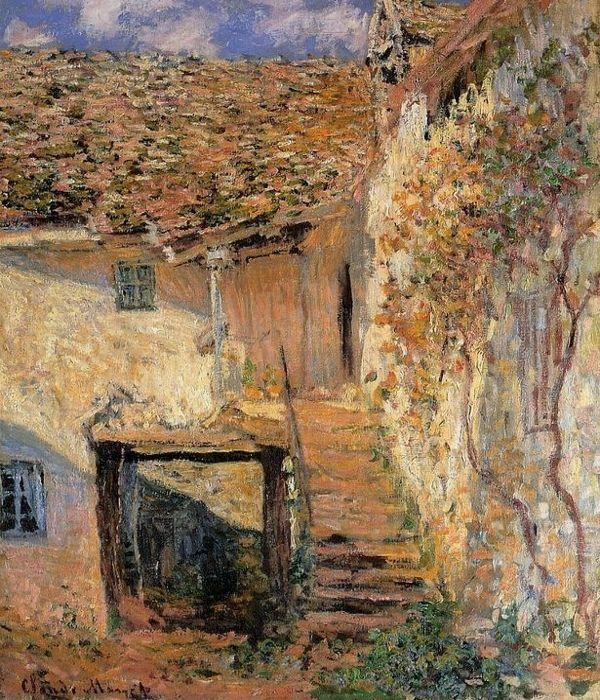 Monet's 'The Steps'   I just love Monet's works of art.  Genius...
