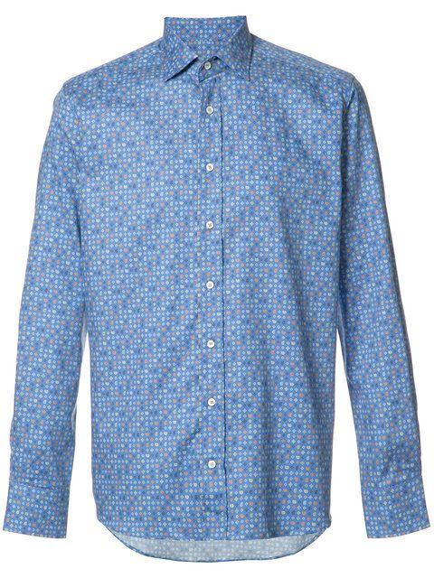 ETRO 기하학 프린트 셔츠. #etro #cloth #셔츠