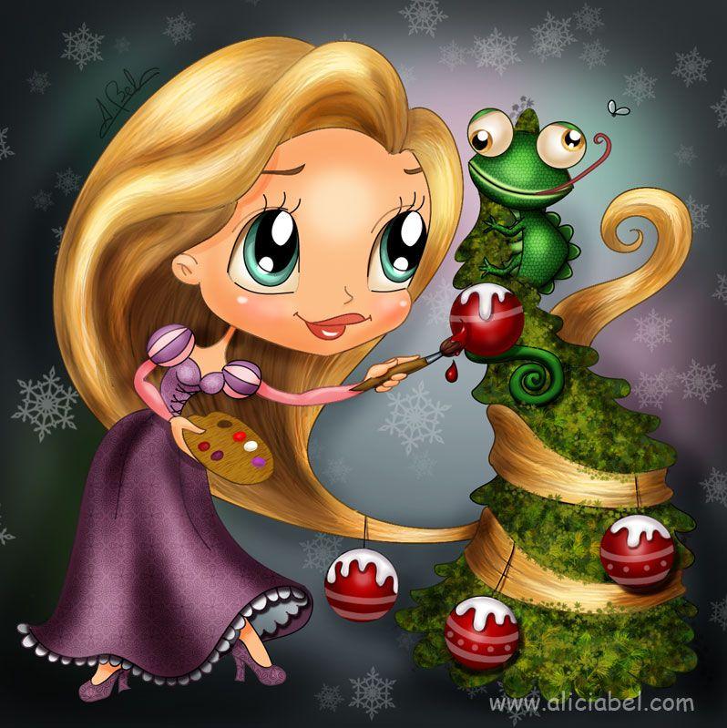Christmas Tangled by AliciaBel.deviantart.com