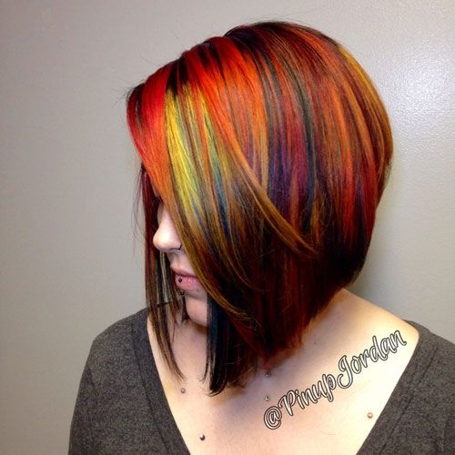 Glow In The Dark Hair Glowing Phoenix Neon