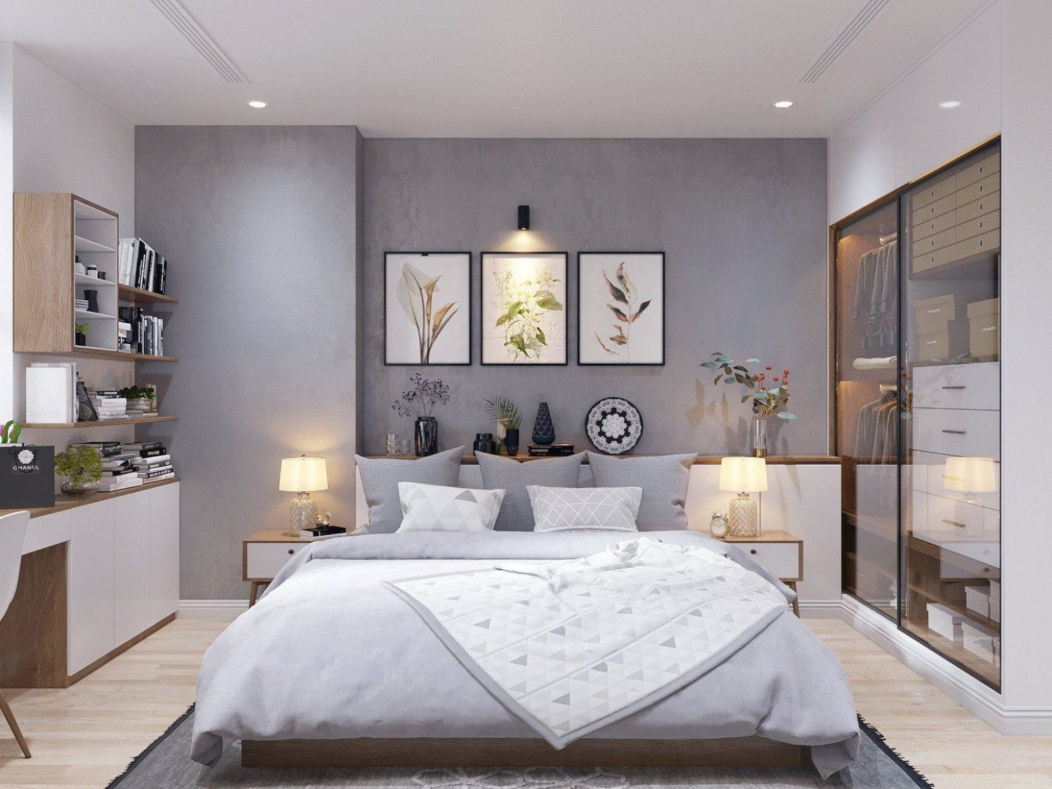 Modern Scandinavian Style Home Design For Young Families Awesome Decoration Suggestions For Swee In 2020 Bedroom Design Trends Master Bedroom Design Bedroom Trends