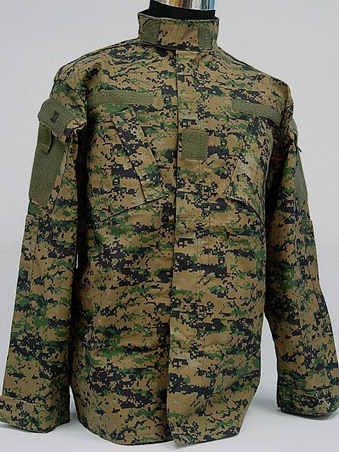 1af930760bc1 Details about SWAT Navy Digital Camo Woodland BDU Uniform Set | ropa ...