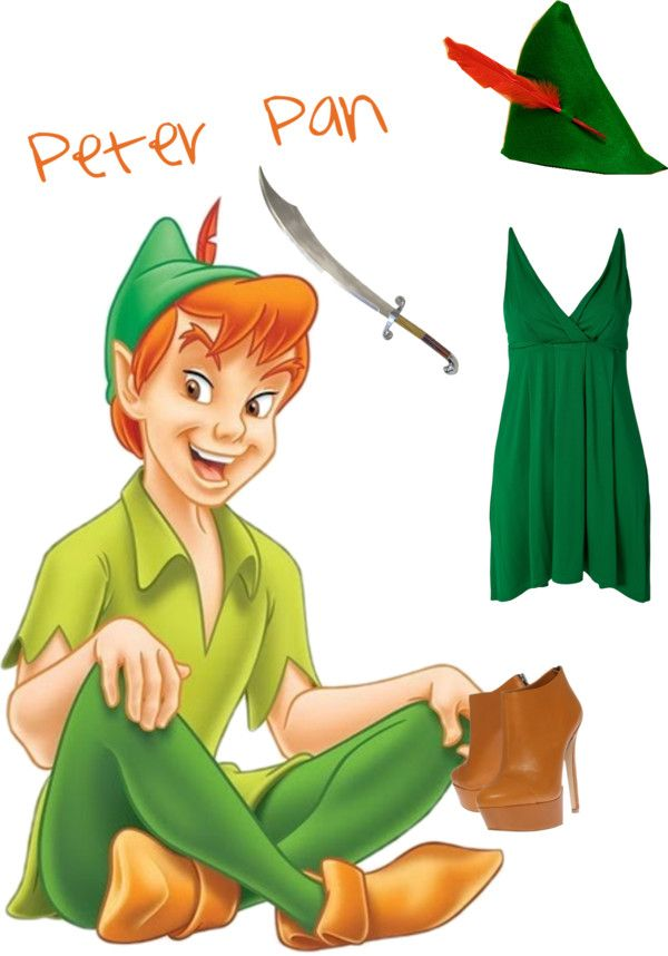 """Peter Pan"" by glitterificness on Polyvore"