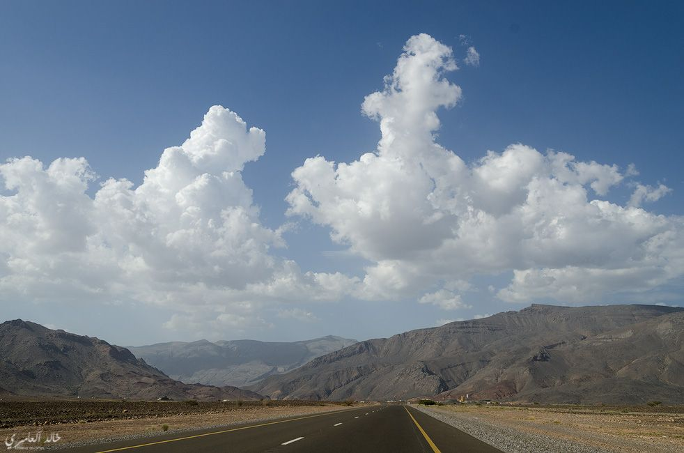 some clouds oin Oman by: khlid Alamri