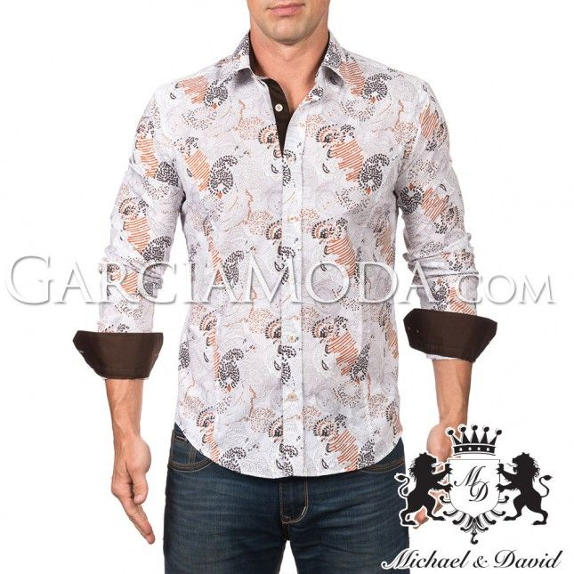 michael-and-david-luxury-menswear-shirt-602-brown