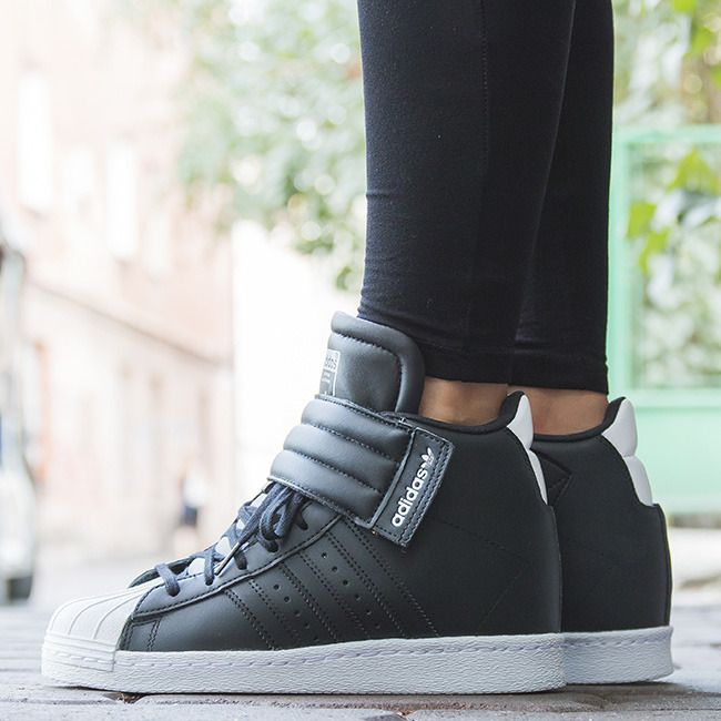 f799b7db8fa3 £61.72 WOMEN S SHOES SNEAKER ADIDAS ORIGINALS SUPERSTAR UP STRAP S81350 -  Sneakerstudio.eu