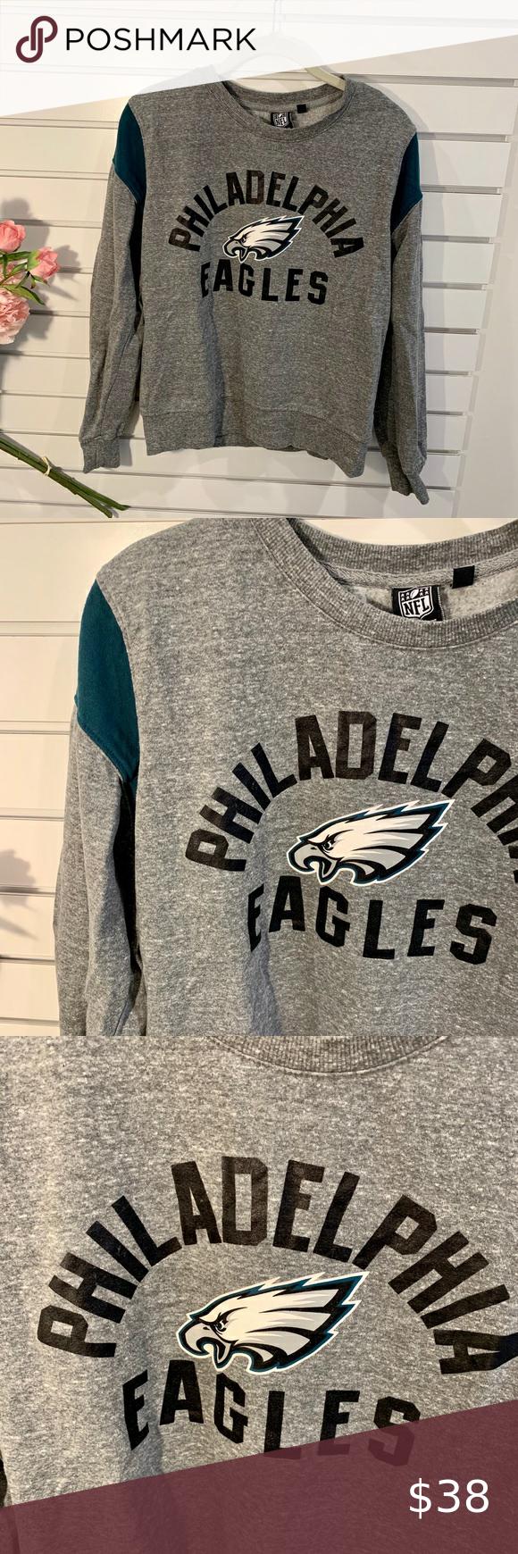 Nfl Philadelphia Eagles Sweatshirt Eagles Sweatshirt Sweatshirts Sweatshirt Tops [ 1740 x 580 Pixel ]