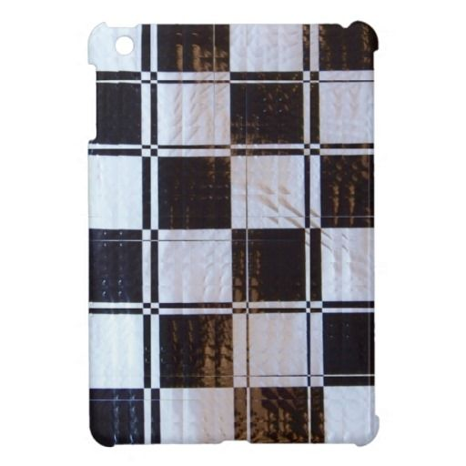 Linear Checkerboard Pattern Cover For The iPad Mini
