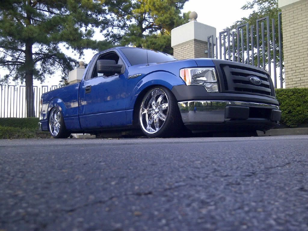 Photobucket lowered rcsb f150s pinterest ford trucks ford 2010 standard cab bagged by ground up kustoms build pics forums sciox Image collections