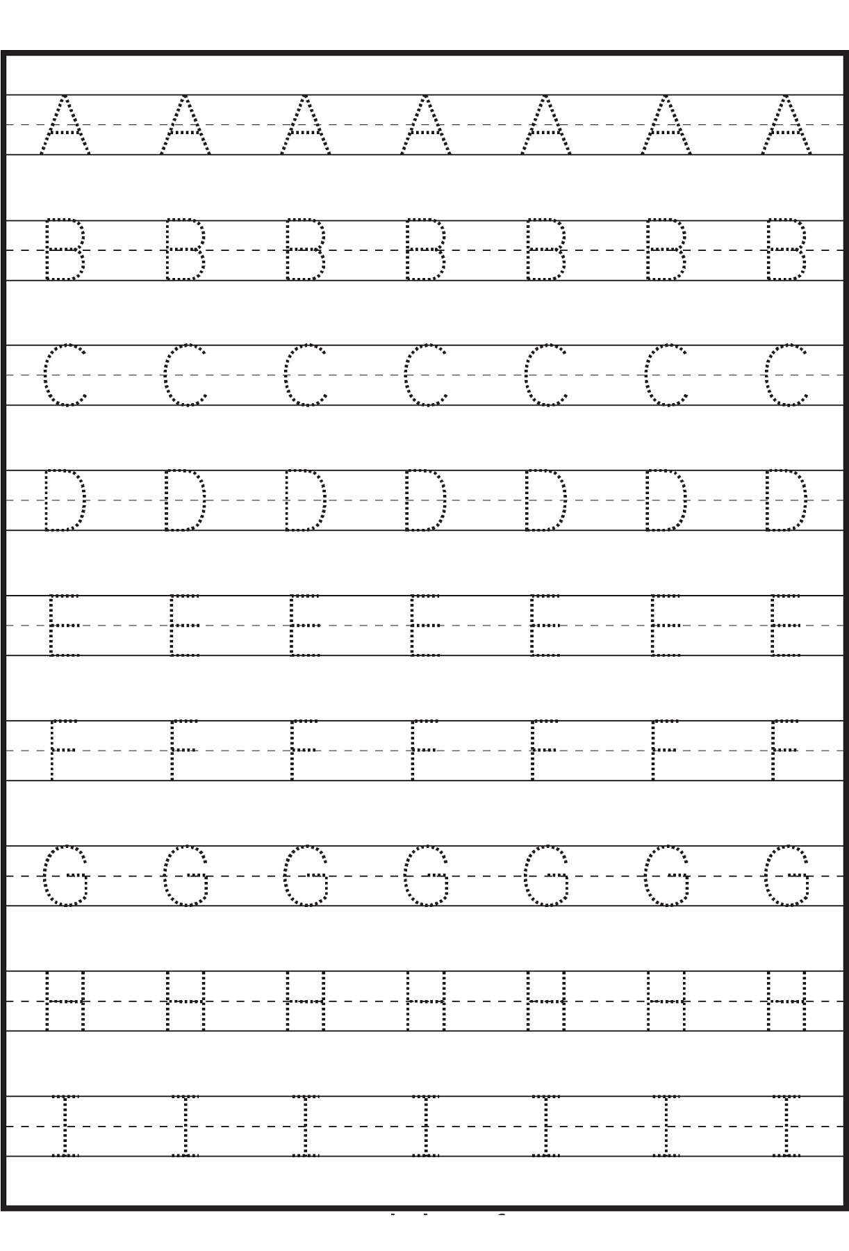 worksheet Abc Printable Worksheets pin by sarah boisselle on kid activities pinterest help your kids learning abc in fun way these traceable letter worksheets to print will learn letters easy and