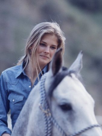 Candice Bergen by Michael Mauney, 1967