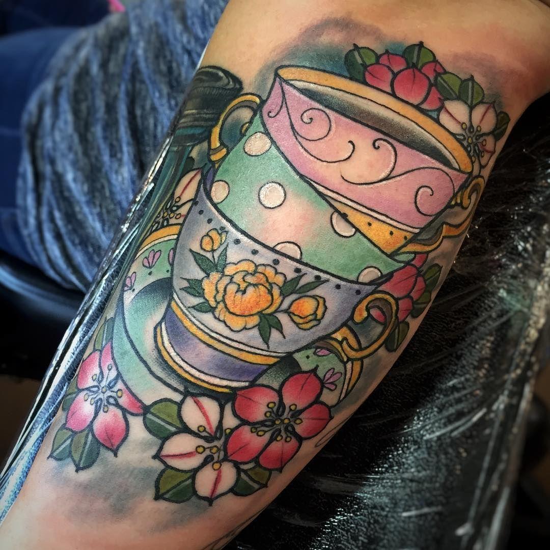 Pin by Courtney MorisetteBarrena on Tea cup Tats Teacup