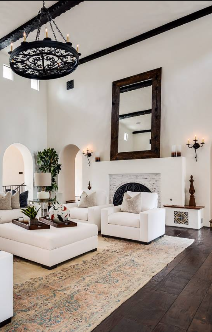 45 Wonderful White Walls Interior Ideas Spanish Style