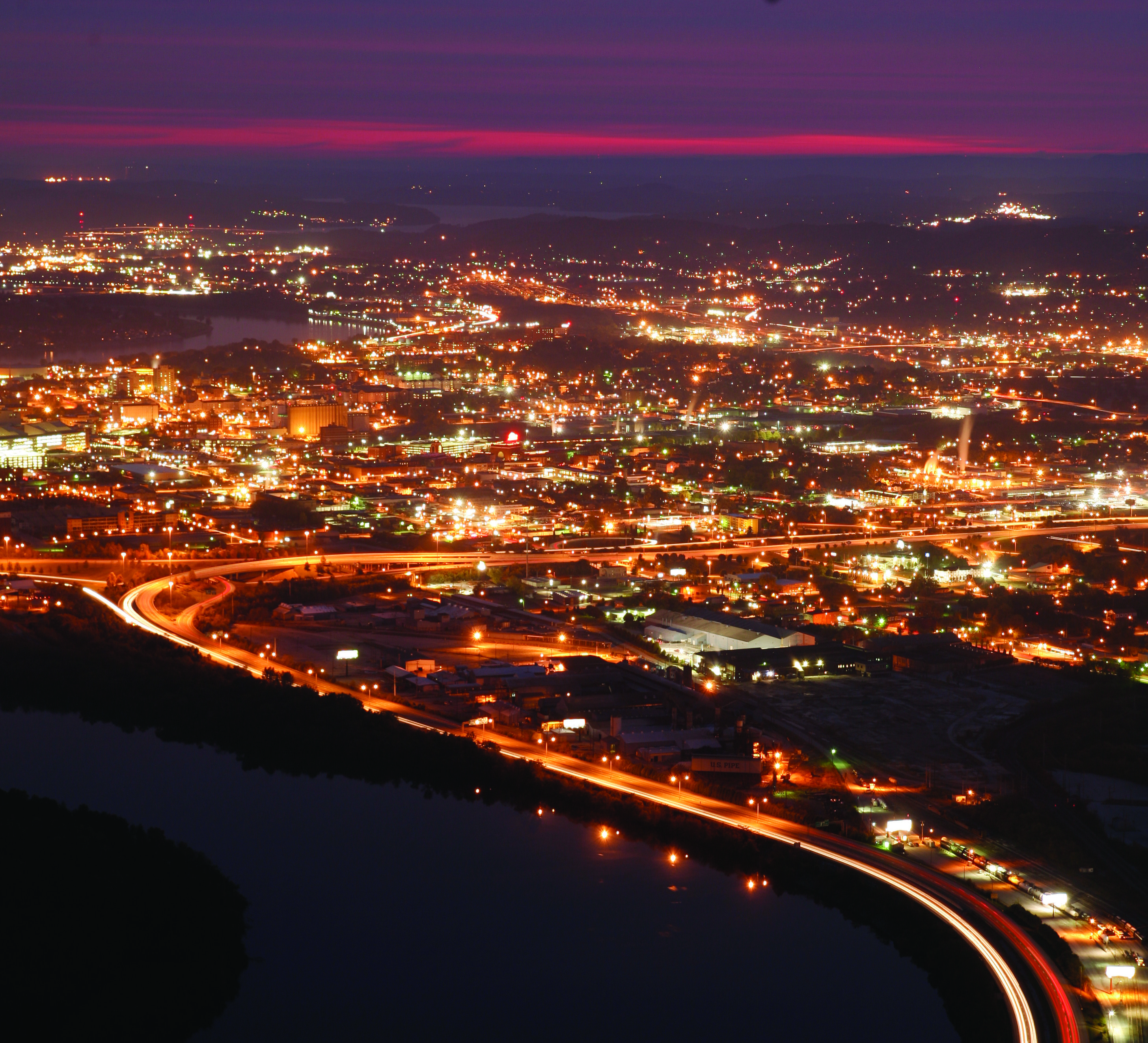 Chattanooga Lights I Love Seeing This
