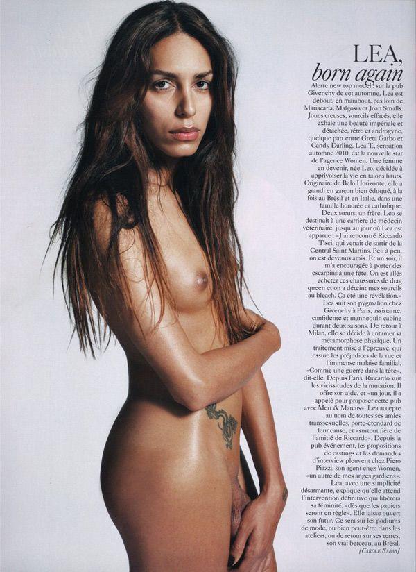 Model lea nude transgender t