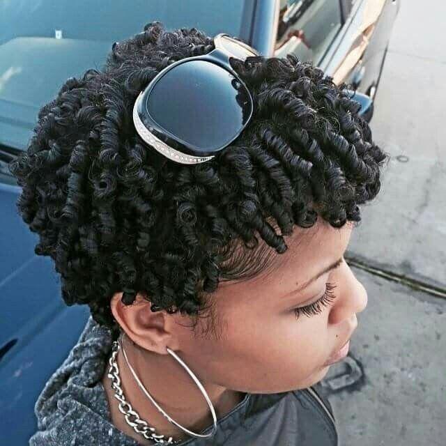 finger coils hair studio curly