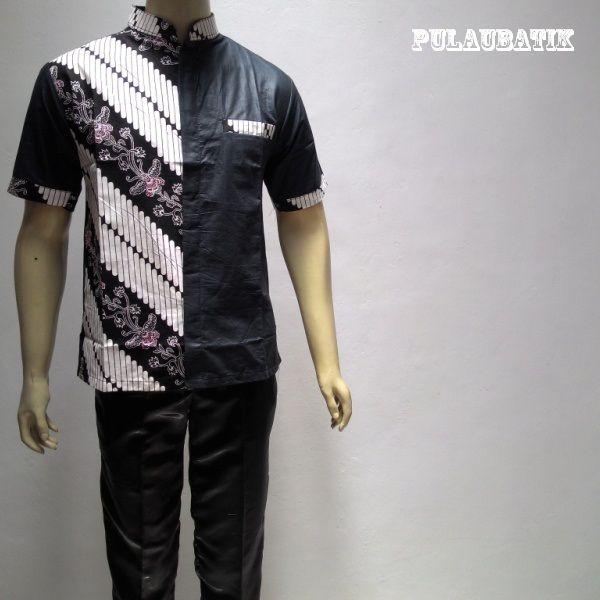 Jual Model Baju Batik Pria Modern Harga Murah Di Toko Online Shop Solo Model Baju Batik Pria