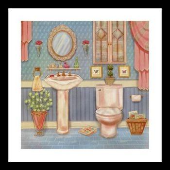 Imagem de Quadrinho de Banheiro