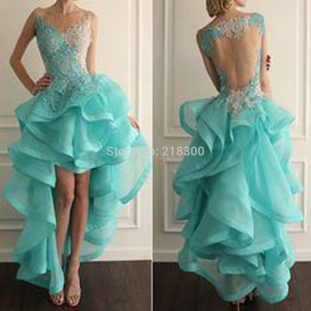 Vestidos azul menta