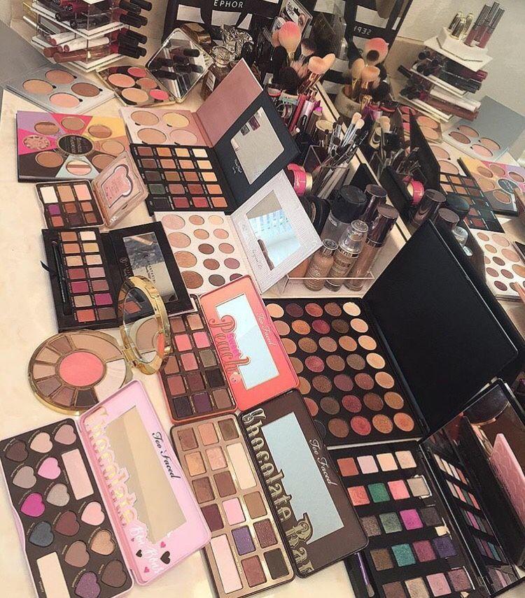Pinterest claudiagabg Makeup collection goals, Makeup