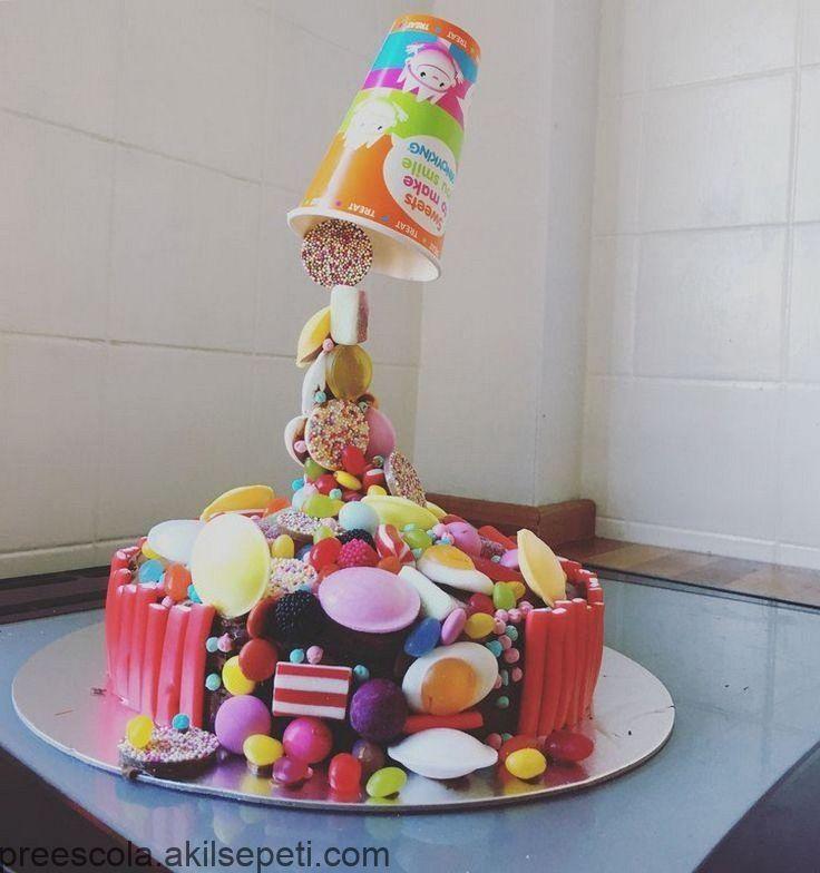 recette gravity cake pour anniversaire enfant petite fille - #anniversaire #cake #enfant #fille #gravity #Petite #pour #recette #gravitycake