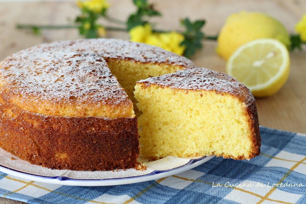 Torta Al Limone Soffice La Cucina Di Loredana Torta Alle Arance Torta Al Limone Idee Alimentari