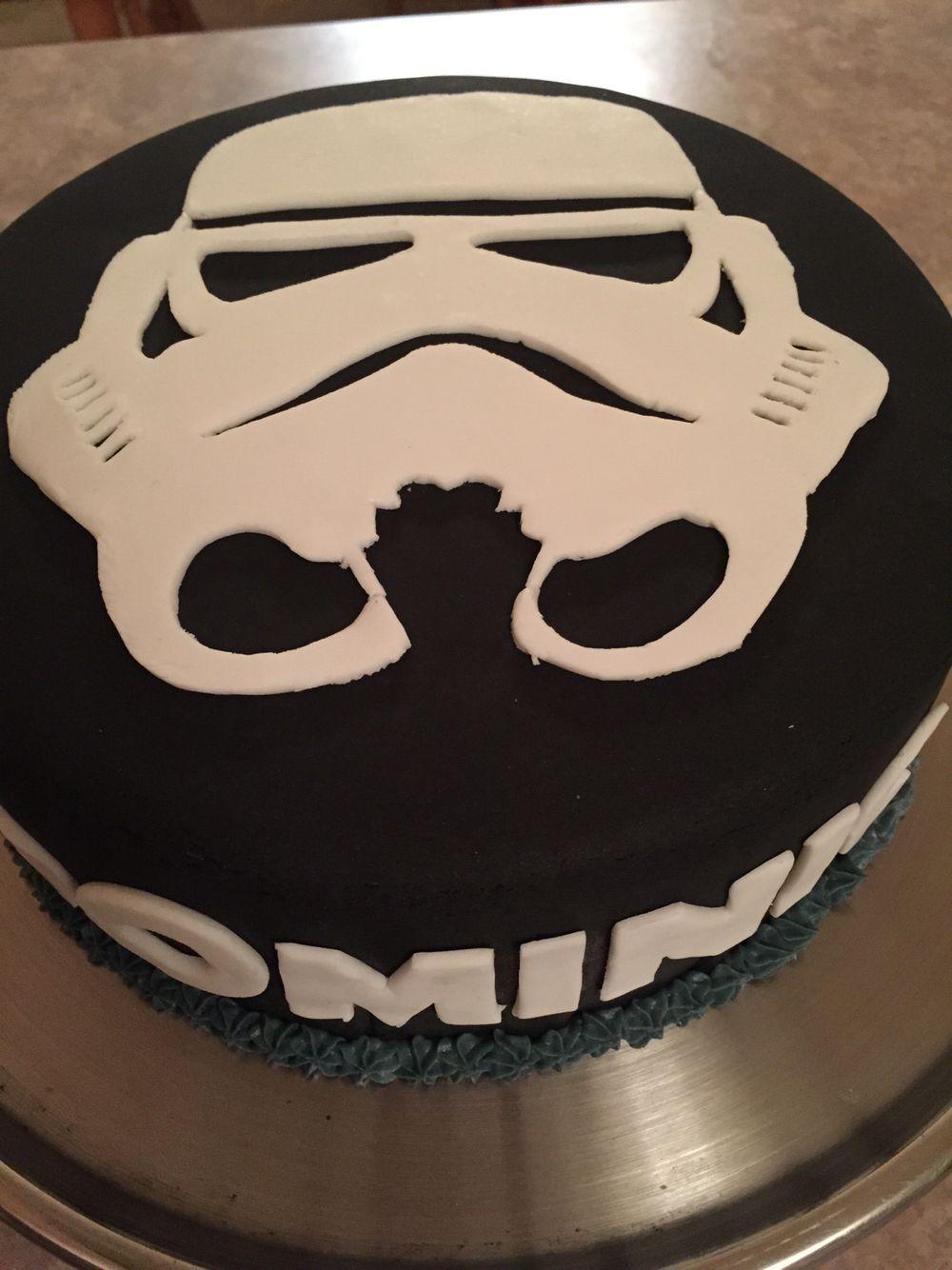 Clone Trooper Cake Design