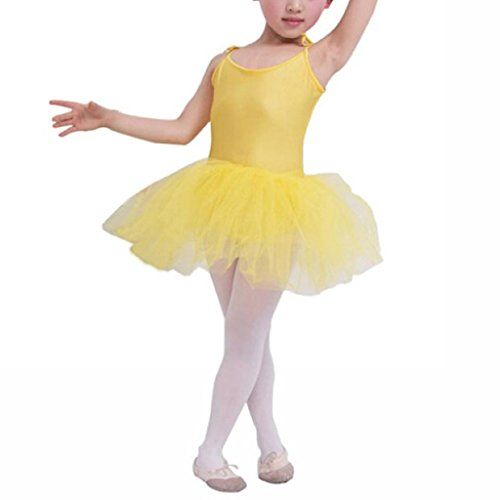 7b1ad56b98f9 Buenos Ninos Girl s Leotard Ballet Clothes Tutus Dance Dress kids ...