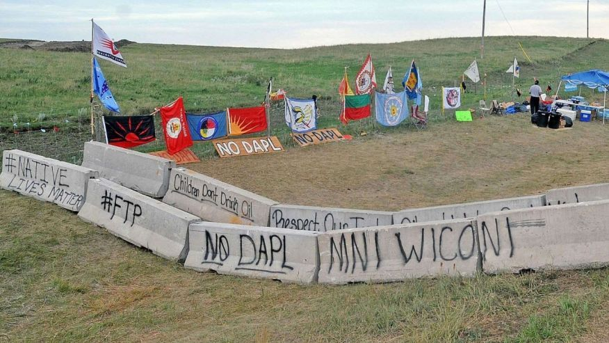 Aug 18 2016 The Protest Site Along North Dakota Highway 1806 Was Quiet And Nearly Empty Of People More Standing Rock Native American Tribes Native American