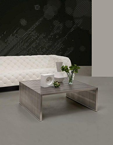 Modern Contemporary Living Room Square Coffee Table