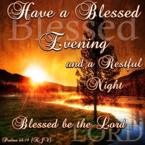 Good Afternoon Picture Quotes: Good Night, God Bless!!