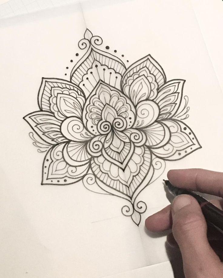 Resultado de imagen de lotus mandala tattoo | ThingsIJust_LIKE ...