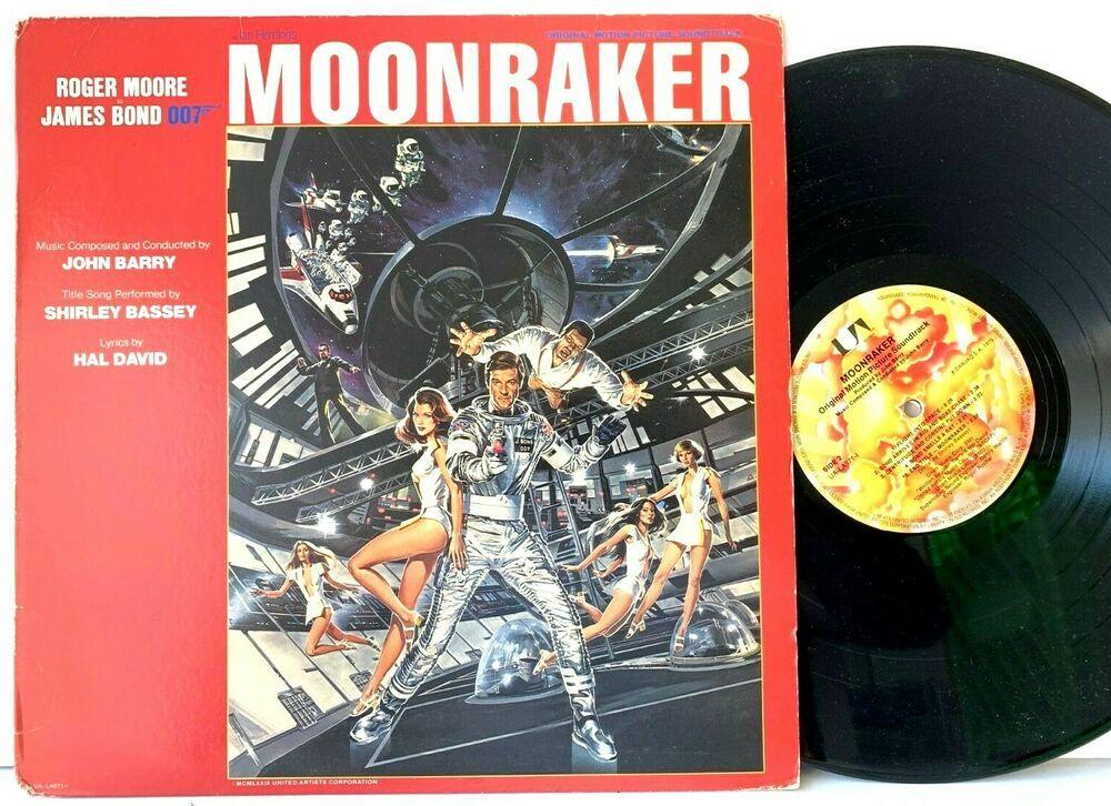 Moonraker Soundtrack James Bond 007 Roger Moore Lp Vinyl Record Album Moon Raker Capitolcollectibles Com Stores Ebay Com Vinyl Records Vinyl Record Album Vinyl