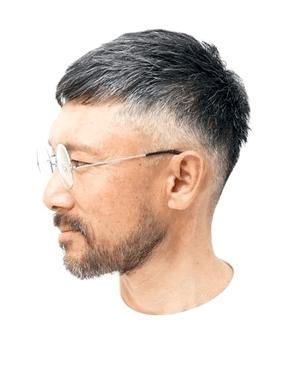 50代男性におすすめの髪型とは 薄毛 白髪が目立たない短髪を紹介 メンズヘアスタイル ベリーショート メンズ ヘアスタイル 髪型 メンズ ツーブロック