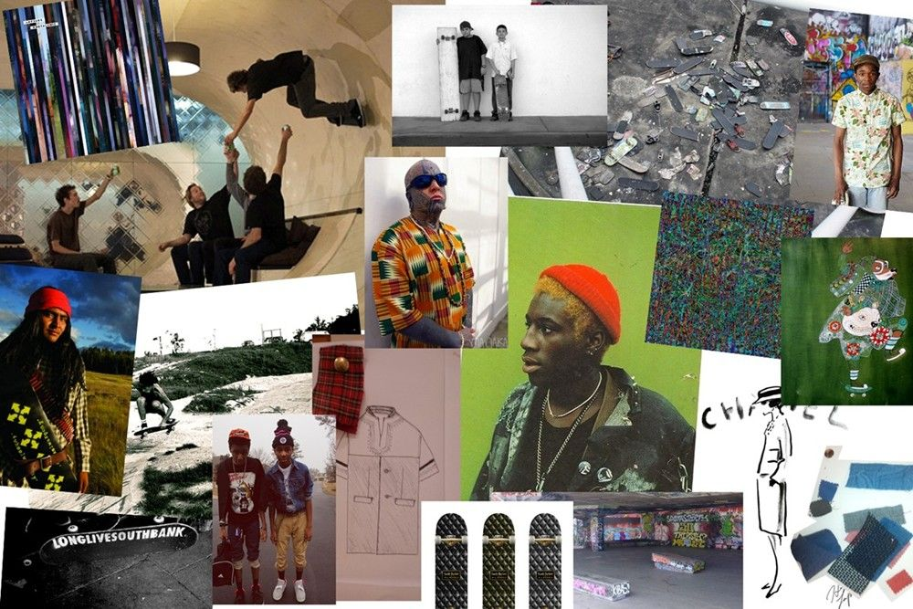 CASELY-HAYFORD SS14 MOODBOARD