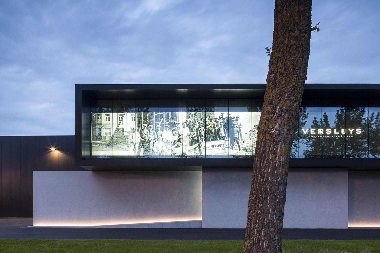 Versluys Modern villa design, Facade architecture