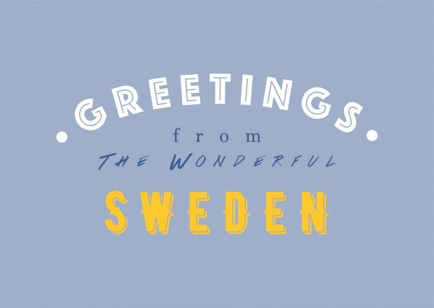 WONDERFUL SWEDEN | Urlaubsgrüße | Echte Postkarten online versenden | MyPostcard.com