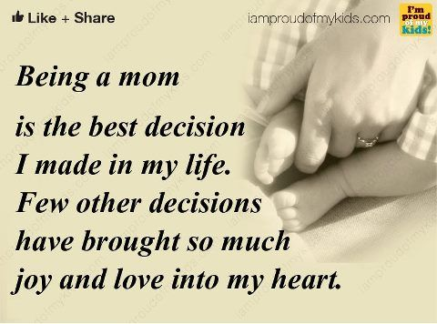 Being a Mom Quotes | life inspiration quotes: Being Mom ...